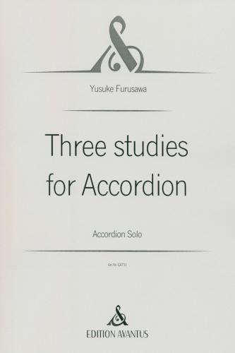 Three studies for accordion