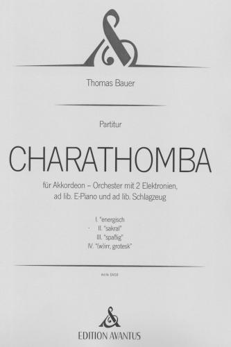 Charathomba - Partitur vollständig