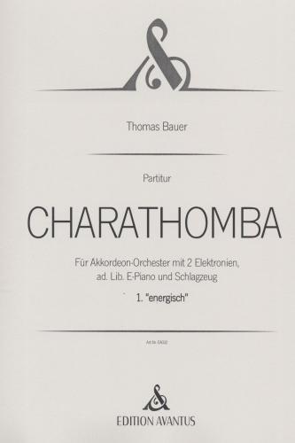 Charathomba 1. Satz 'energisch' - Partitur