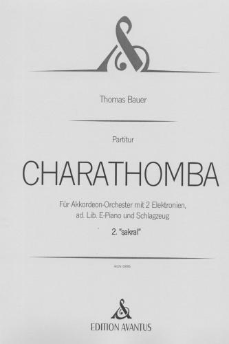 Charathomba 2. Satz 'sakral' - Partitur