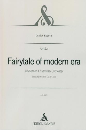 Fairytale of modern era - Partitur
